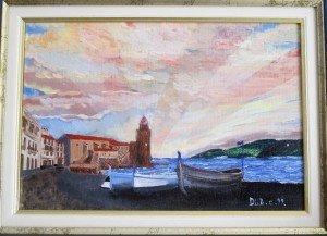Collioure dans art 04-Collioure-huile-300x217
